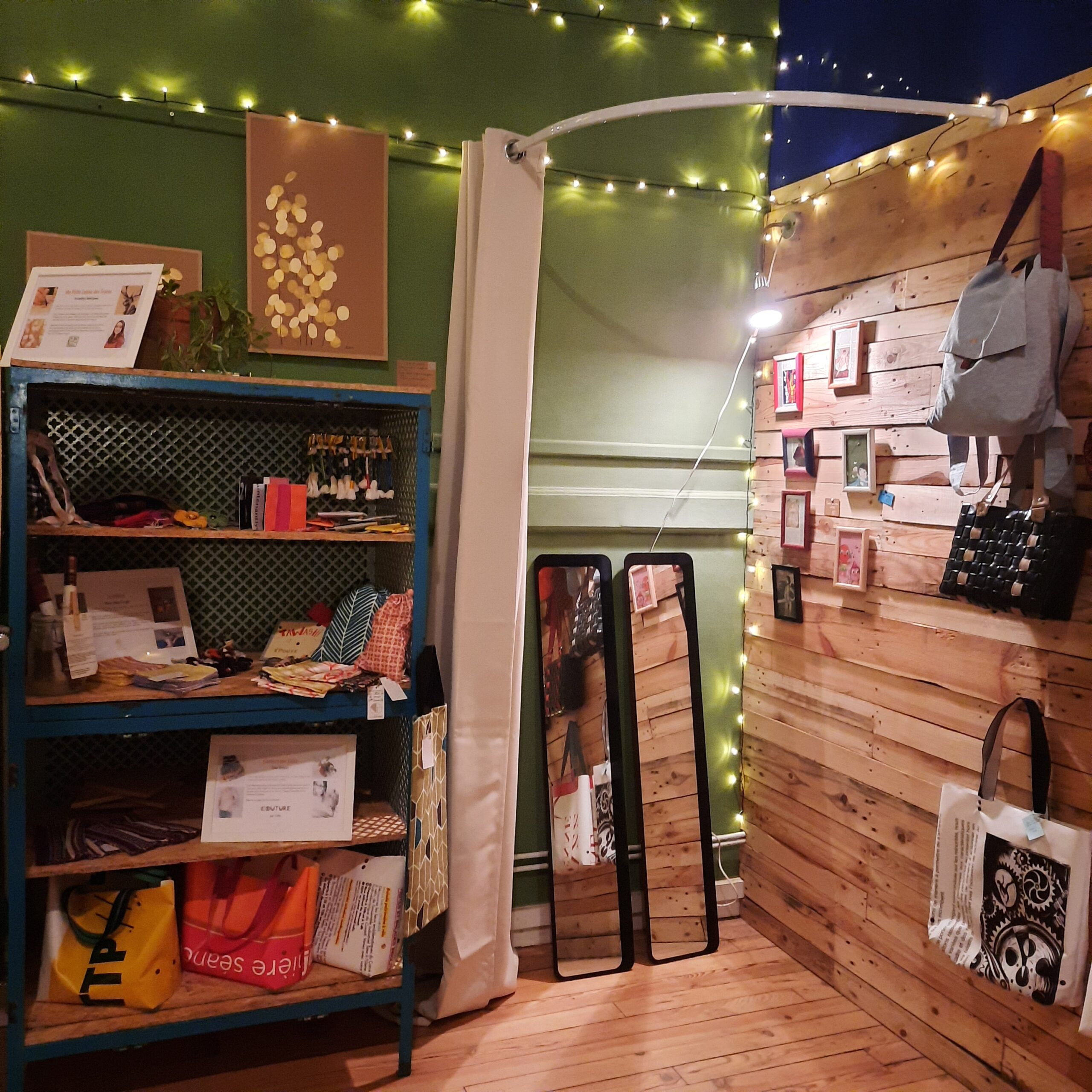 Atelier des Nouveaux Designs Lyon - Boutique upcycling